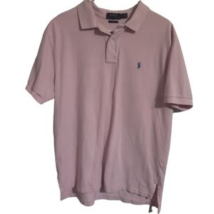 Polo Ralph Lauren Pink Classic Fit Polo Shirt